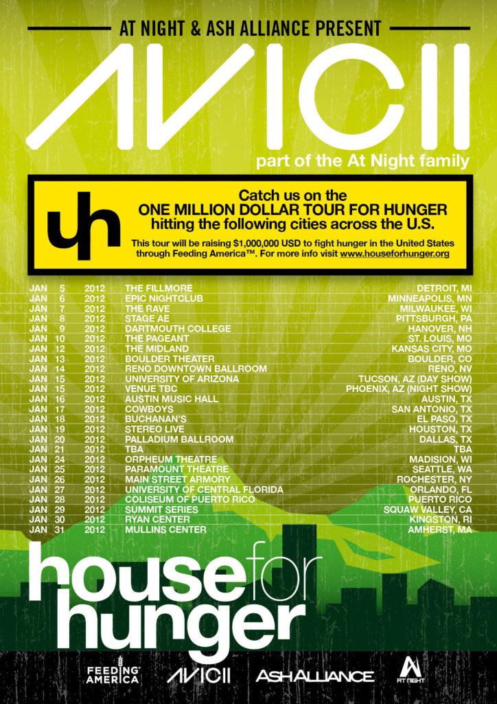 Avicii : House For Hunger Tour